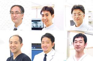 入れ歯専門の歯科医師陣による集中治療
